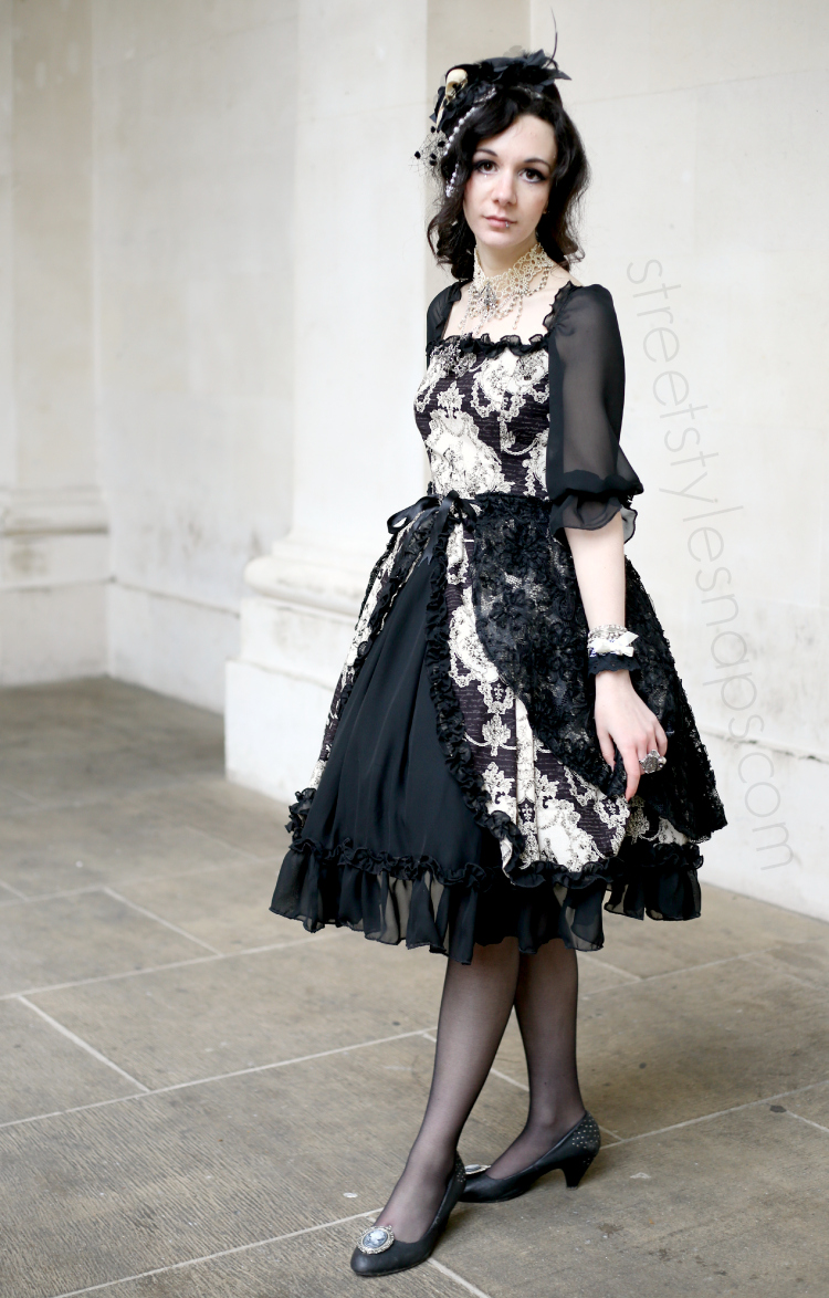 Lady Sloth Lolita Dress Baroque OP Classic